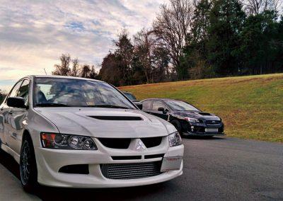 Mitsubishi Evo & Subaru WRX Sti